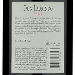 Don Laurindo Reserva Malbec 2014