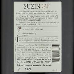 Suzin Reserva Pinot Noir 2019