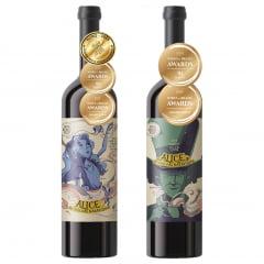 Kit Enos Enoch Premium Alice no País das Maravilhas com 2 Garrafas