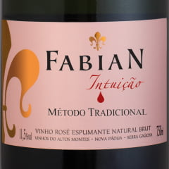 Fabian Intuição Espumante Brut Rosé Tradicional