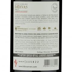 Lidio Carraro Dádivas Merlot - Cabernet Sauvignon 375ml