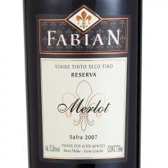 Fabian Reserva Merlot 2007