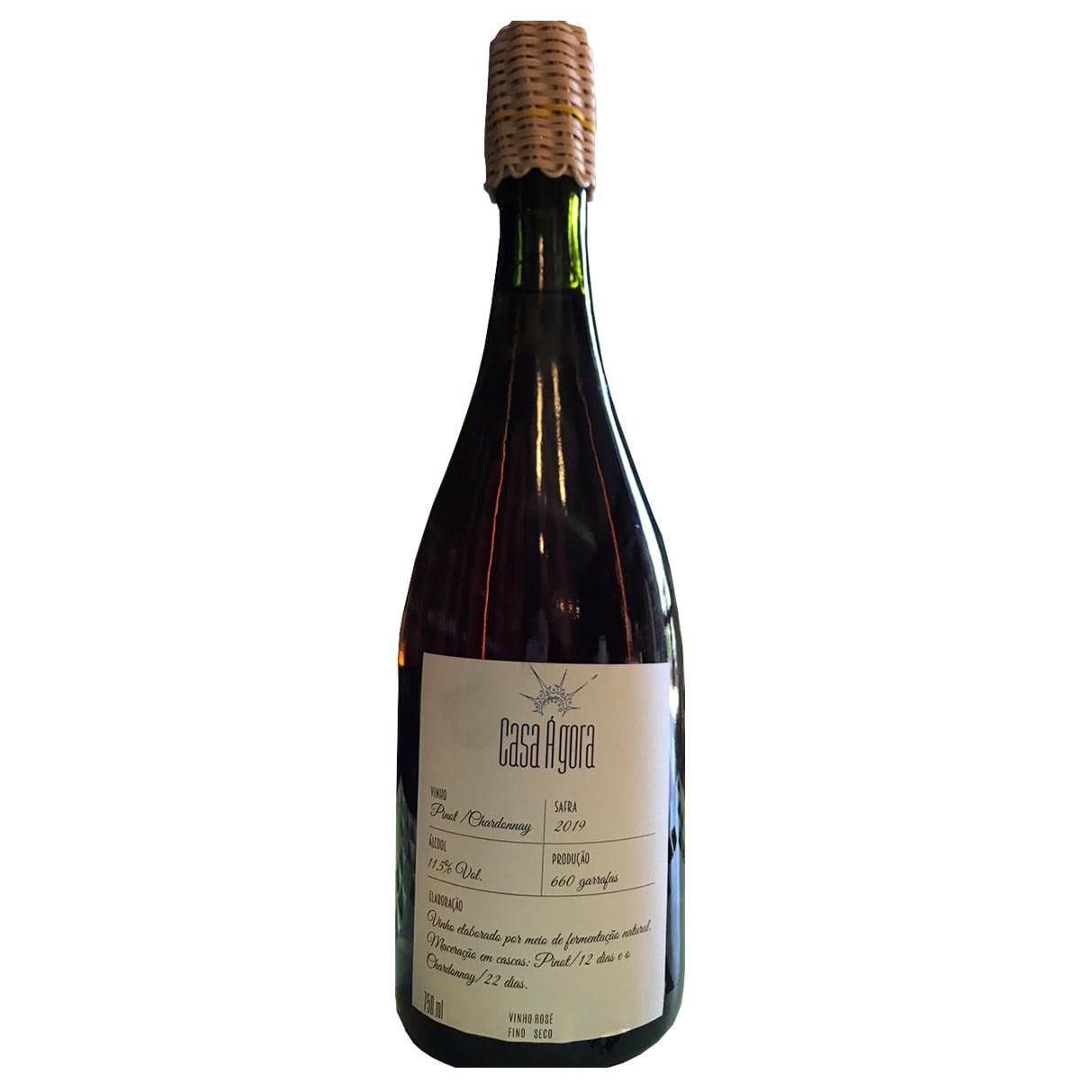 Casa Ágora Pinot / Chardonnay 2019 Orgânico Rosé